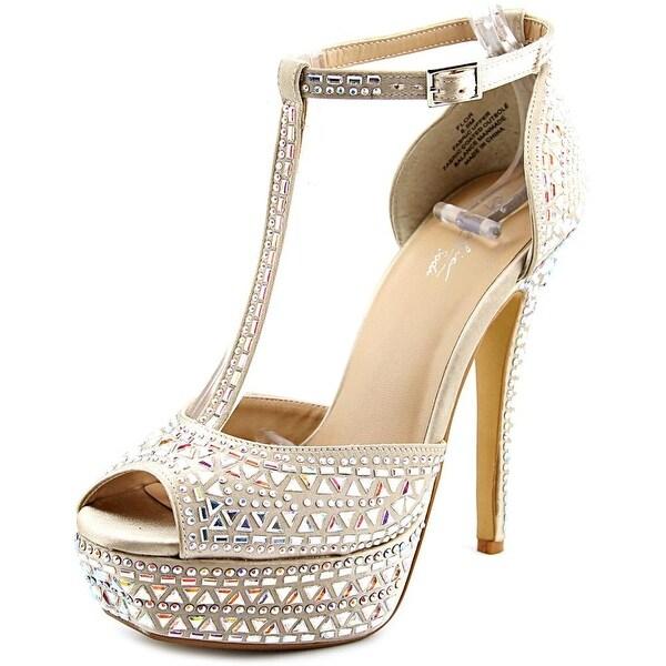 Thalia Sodi Flor Women Champagne Sandals