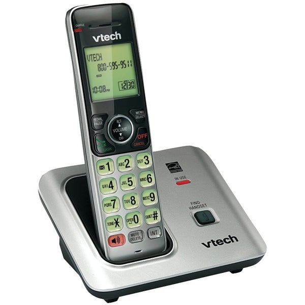 Vtech Cs6619 Cordless Phone With 2 Handsets, 50 Name/Number