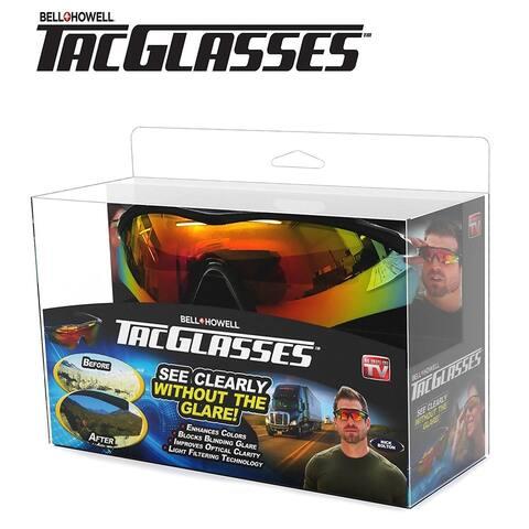 Bell & Howell Tac Glasses Military Inspired Sunglasses Block Glare & Enhance Colors