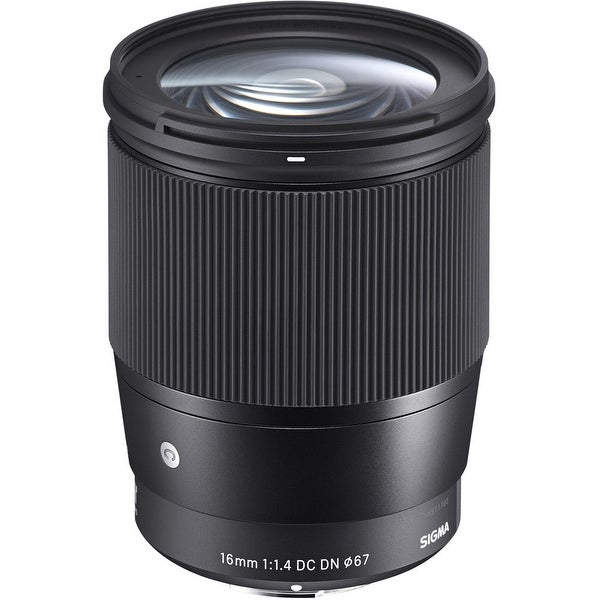 Sigma 16mm f/1.4 DC DN Contemporary Lens for Sony - Black