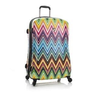 Heys America 30 Inch Colour Herringbone 2G Rolling Luggage