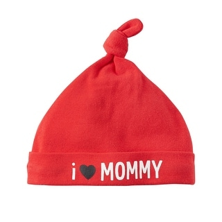Carter's Baby Boys' I Love Mommy Beanie, One Size