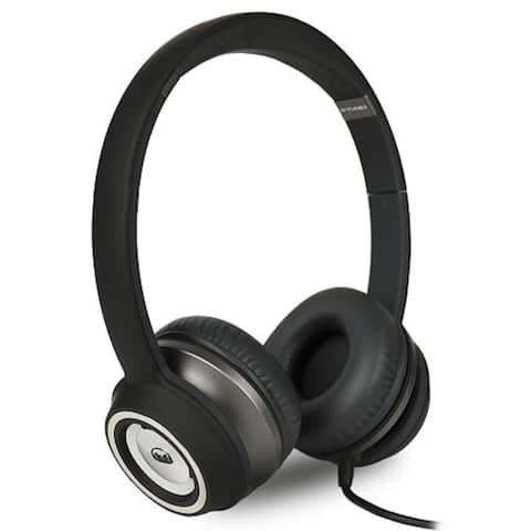 Monster N-Tune High Performance On-Ear Headphones w/3.5mm Plug (Matte Black)