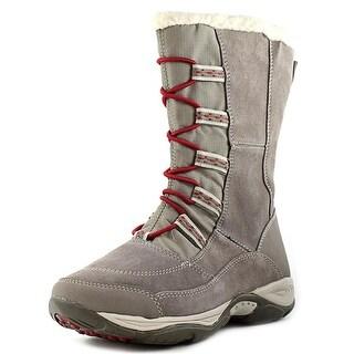 Easy Spirit Edwardson Women Round Toe Suede Gray Winter Boot