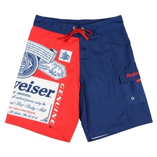 Budweiser Retro Label Mens Boardshorts