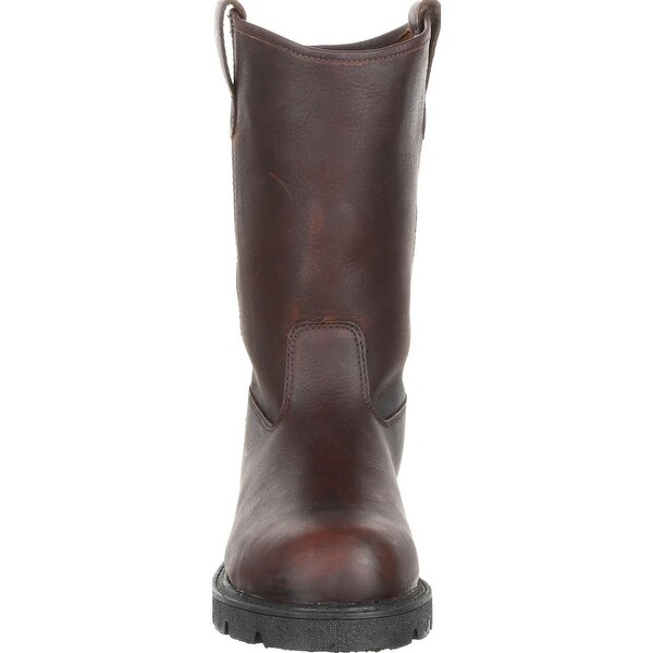 Georgia Boot Homeland Steel Toe Pull