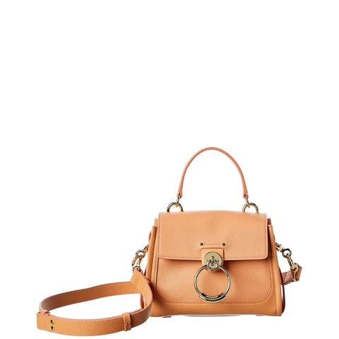 Chloe Tess Day Mini Leather Shoulder Bag