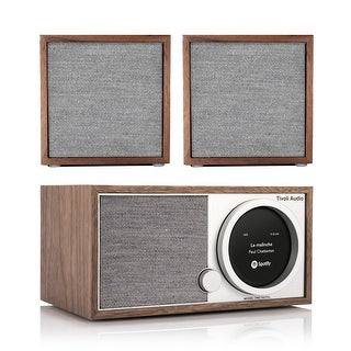 Tivoli Audio Model One Digital Music System with CUBE Speaker Pair (Option: Brown)
