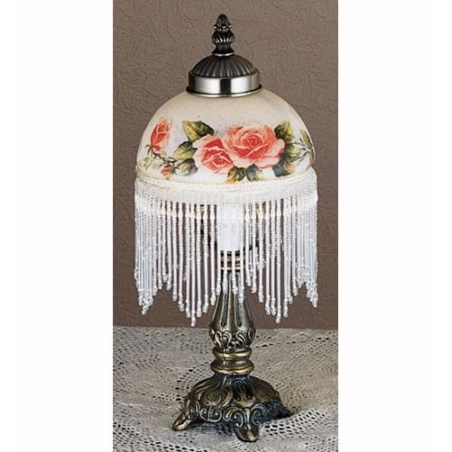 Meyda Tiffany 31323 Accent Table Lamp from the Roses Collection