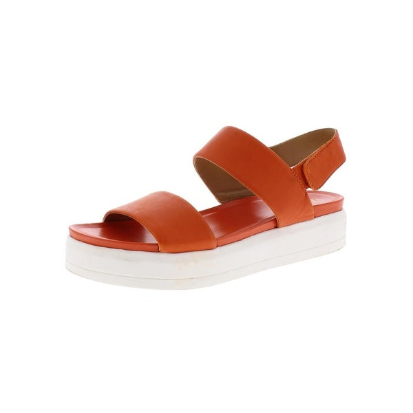 141985a4635 Shop Franco Sarto Womens Kenan Wedge Sandals Leather Platforms ...