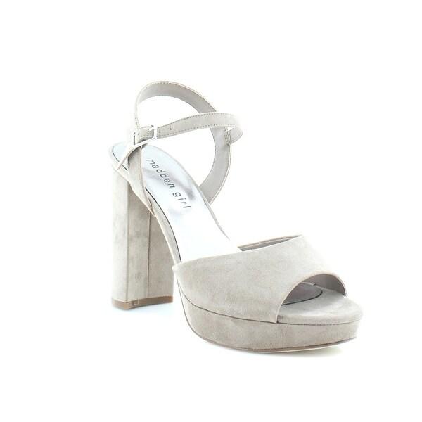 Madden Girl Sharpe Women's Heels Taupe - 10