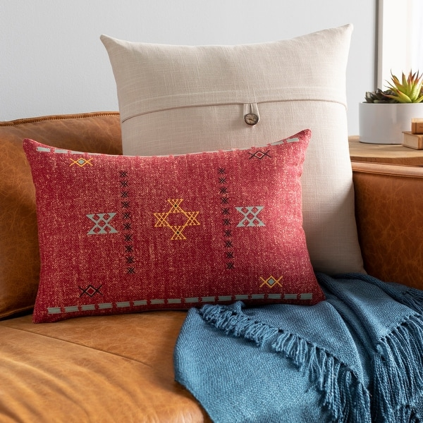 Joellen Southwestern Print 13x20-inch Lumbar Throw Pillow. Opens flyout.