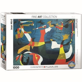 Joan Miro Swallow Love 1000 Piece Puzzle