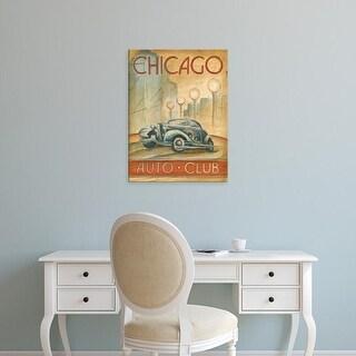 Easy Art Prints Ethan Harper's 'Chicago Auto Club' Premium Canvas Art