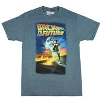 Back To The Future Men's Distressed Poster T-Shirt