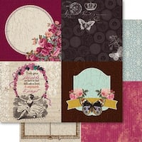 """Heritage Double-Sided Cardstock 12""""X12"""""""