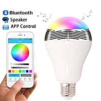 Kanstar LED Bluetooth Smart Light Bulb Speaker - Dimmable Color Changing Light Bulb for Apple iPhone, iPad and Android