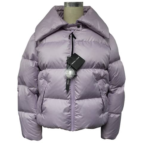 Kendall + Kylie Puffer With Convertible Collar