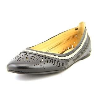 Bella Vita Taliah WW Round Toe Leather Flats