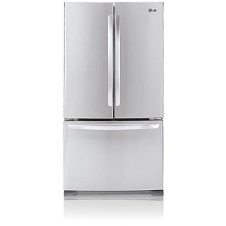 LG LFC21776 20.7 Cubic Foot French Door Refrigerator with Pull-out Freezer Drawe