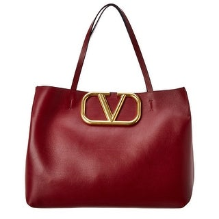 Link to Valentino Vlogo Leather Tote Similar Items in Shop By Style