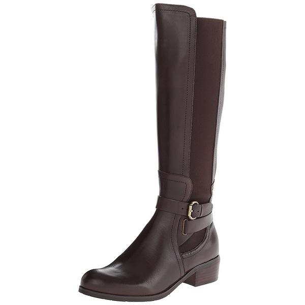 Corso Como Womens Baylee Almond Toe Knee High Fashion Boots