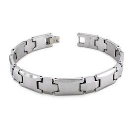 Tungsten Carbide Link Bracelet