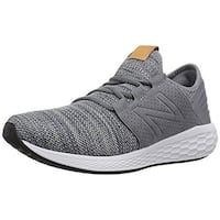 New Balance Mens Cruz V2 Fresh Foam Running Shoe, Gunmetal
