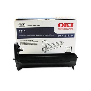 Oki 44315104 Drum, 20,000 Page-Yield, Black