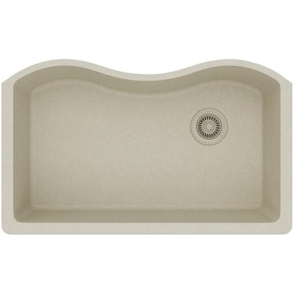 "Elkay ELGUS3322R Harmony 33"" Single Basin Granite Composite Kitchen Sink for Undermount Installations"