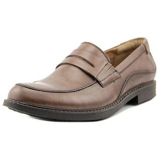 Jambu Chicago Hypergrip Men Moc Toe Leather Loafer