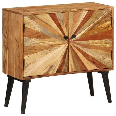 """vidaXL Sideboard Solid Mango Wood 33.5""""x11.8""""x29.5"""""""