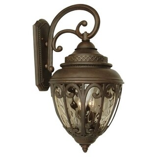 "Craftmade Z3824 Olivier 25"" 3 Light Outdoor Wall Sconce"