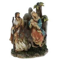 Holy Family leaving Bethlehem