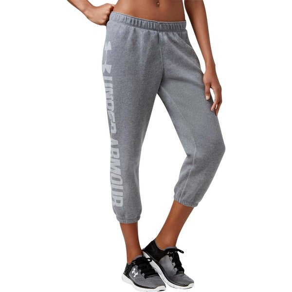 1f3fb87d931b41 Shop Under Armour Womens Sweatpants Fleece Workout - Free Shipping ...