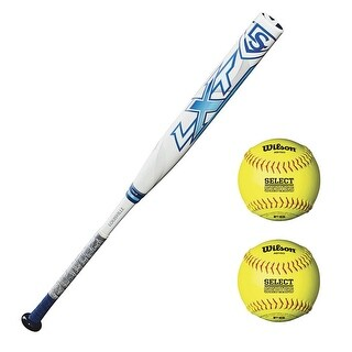 "Louisville Slugger 2018 LXT -10 Fast Pitch Softball Bat (32""/22 oz) Bundle"