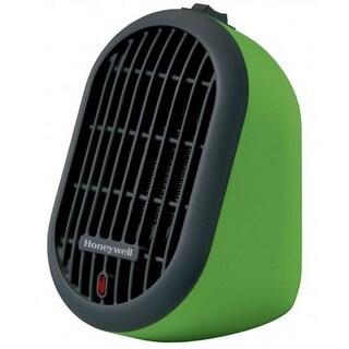 Honeywell Heat Bud Ceramic Personal Heater, 250 Watts, Green