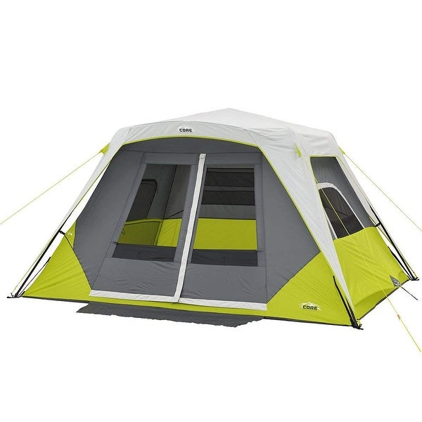 Shop Core 6 Person Instant Cabin Tent With Awning Free