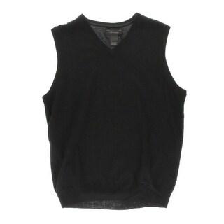 Private Label Mens Wool V-Neck Sweater Vest