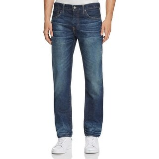 Levi's 511 Men's Slim Fit Jeans 36x32 Blue Sits Below Waist, Slim Hip to Ankle