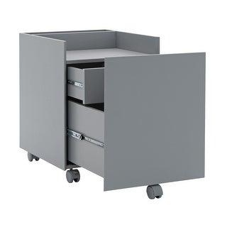 Offex Niche File Cabinet Gray - Gray