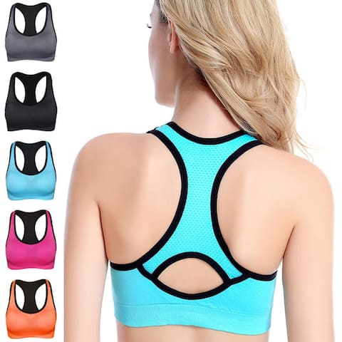 High Impact Sports Bra, Multiple Colors