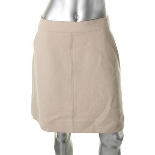 DKNY Womens Pencil Skirt Wool Pockets - 10
