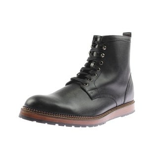 Dr. Scholl's Mens Burke Lace-Up Boot Leather Round Toe - 12 medium (d)