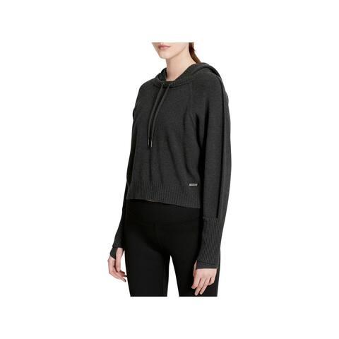 Calvin Klein Performance Womens Hoodie Cropped Athleisure
