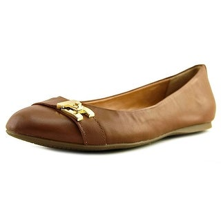 Tommy Hilfiger Catyan 2 Round Toe Leather Flats