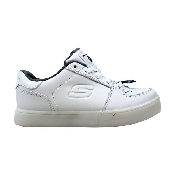 e8eb936a7c3c Shop Skechers Energy Lights White 90601L WHT Grade-School - Free ...