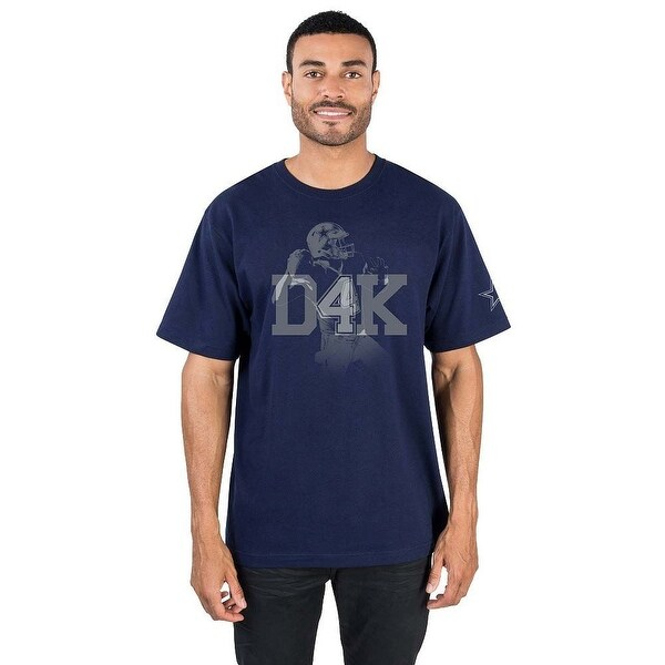 best authentic bcb11 220cc Dallas Cowboys Dak Prescott D4K T-shirt (Medium)