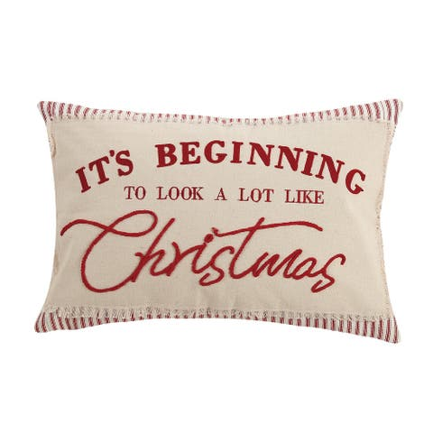 Beginning to Look Like Christmas Pillow