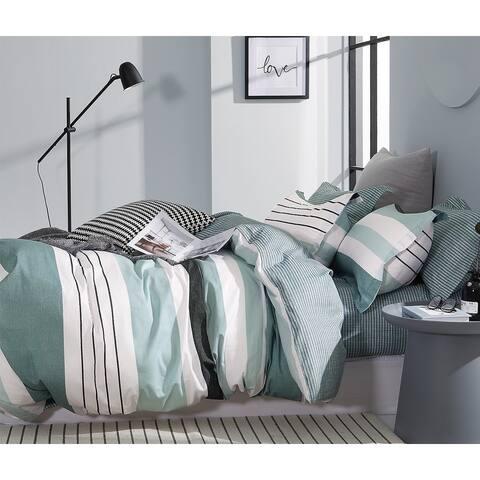 Lesen Reversible 100% Cotton Comforter Set
